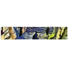 Banks Of The Seine KPA Flano Scarf (Large)