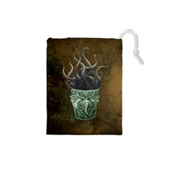 MonsterCup-Small Drawstring Pouch (Small)