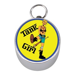 Tank Girl Mini Silver Compasses