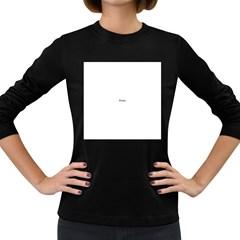 Comic Book Pop Art Women s Long Sleeve Dark T Shirts