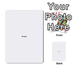 Comic Book POW! Multi-purpose Cards (Rectangle)