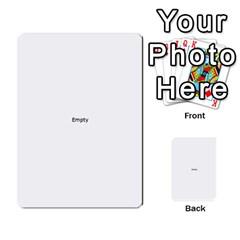 Comic Book Pow! Multi Purpose Cards (rectangle)