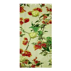 Vintage Style Floral Design Shower Curtain 36  x 72  (Stall)