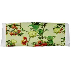 Vintage Style Floral Design Body Pillow Cases Dakimakura (Two Sides)