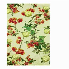 Vintage Style Floral Design Small Garden Flag (Two Sides)