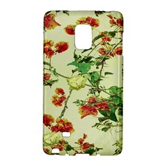 Vintage Style Floral Design Galaxy Note Edge