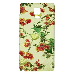 Vintage Style Floral Design Galaxy Note 4 Back Case