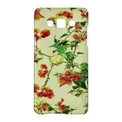 Vintage Style Floral Design Samsung Galaxy A5 Hardshell Case