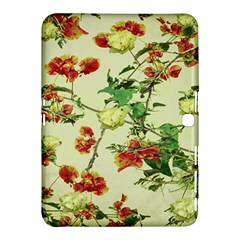 Vintage Style Floral Design Samsung Galaxy Tab 4 (10.1 ) Hardshell Case