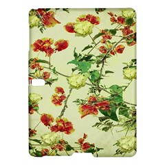Vintage Style Floral Design Samsung Galaxy Tab S (10.5 ) Hardshell Case