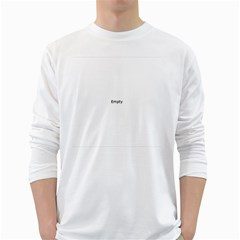 Comic Book I M....I M SORRY! White Long Sleeve T-Shirts