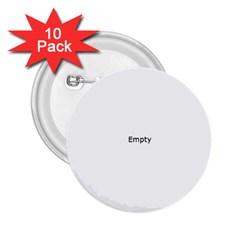 Never Trust An Atom 2 25  Buttons (10 Pack)