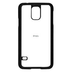 I USED TO CARE Samsung Galaxy S5 Case (Black)