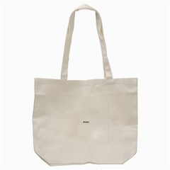 THINK LIKE A PROTON AND STAY POSITIVE Tote Bag (Cream)