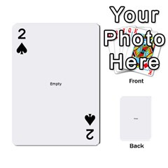 THINK LIKE A PROTON AND STAY POSITIVE Playing Cards 54 Designs