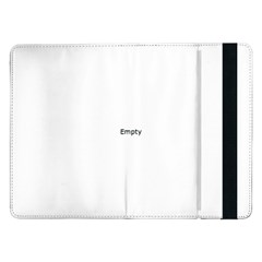 THINK LIKE A PROTON AND STAY POSITIVE Samsung Galaxy Tab Pro 12.2  Flip Case