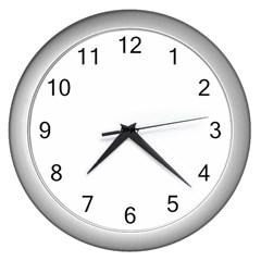 Fingerprint Id Wall Clocks (silver)