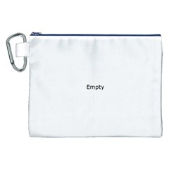 Fingerprint ID Canvas Cosmetic Bag (XXL)