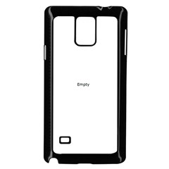 Mini Bugs And Mini Beasts Sq Samsung Galaxy Note 4 Case (Black)