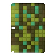 Green Tiles Pattern	samsung Galaxy Tab Pro 12 2 Hardshell Case