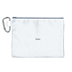 Atomic Structure Canvas Cosmetic Bag (L)