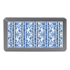 Chinoiserie Striped Floral Print Memory Card Reader (Mini)