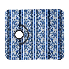 Chinoiserie Striped Floral Print Samsung Galaxy S  Iii Flip 360 Case