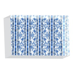 Chinoiserie Striped Floral Print 4 x 6  Acrylic Photo Blocks