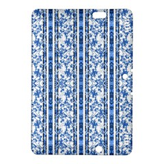 Chinoiserie Striped Floral Print Kindle Fire HDX 8.9  Hardshell Case