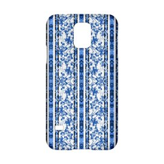 Chinoiserie Striped Floral Print Samsung Galaxy S5 Hardshell Case