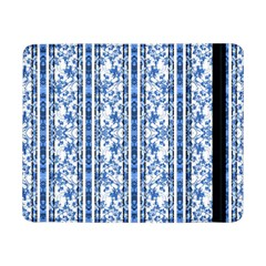 Chinoiserie Striped Floral Print Samsung Galaxy Tab Pro 8.4  Flip Case