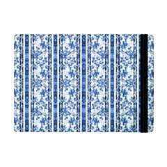 Chinoiserie Striped Floral Print Ipad Mini 2 Flip Cases