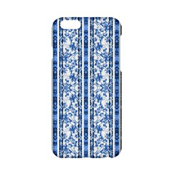 Chinoiserie Striped Floral Print Apple iPhone 6 Hardshell Case