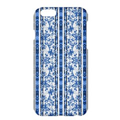 Chinoiserie Striped Floral Print Apple iPhone 6 Plus Hardshell Case