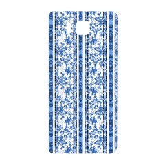 Chinoiserie Striped Floral Print Samsung Galaxy Alpha Hardshell Back Case