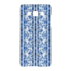 Chinoiserie Striped Floral Print Samsung Galaxy A5 Hardshell Case