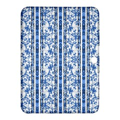 Chinoiserie Striped Floral Print Samsung Galaxy Tab 4 (10.1 ) Hardshell Case