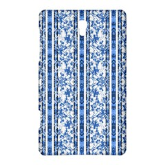 Chinoiserie Striped Floral Print Samsung Galaxy Tab S (8.4 ) Hardshell Case
