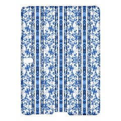 Chinoiserie Striped Floral Print Samsung Galaxy Tab S (10.5 ) Hardshell Case