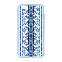 Chinoiserie Striped Floral Print Apple Seamless iPhone 6 Case (Color)