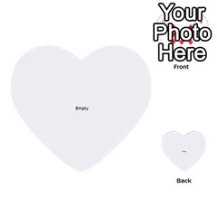 Colour Fields Round Multi-purpose Cards (Heart)