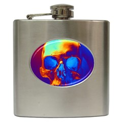 Skull Hip Flask (6 Oz)