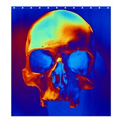 Skull Shower Curtain 66  x 72  (Large)