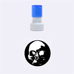 Skull Rubber Round Stamps (Small)