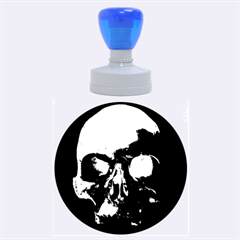 Skull Rubber Round Stamps (large)