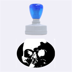 Skull Rubber Oval Stamps
