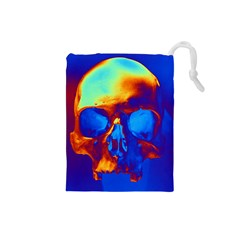 Skull Drawstring Pouches (small)