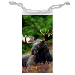 Majestic Moose Jewelry Bag