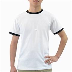 USA Hearts Flag Ringer T-Shirts