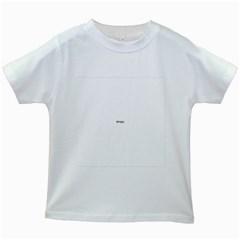 Uk Hearts Flag Kids White T-Shirts